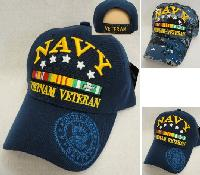 Licensed Navy [Vietnam Veteran] *Assorted Colors